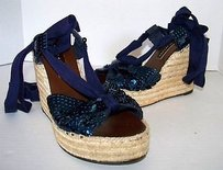 Marc Jacobs By Blue Platforms