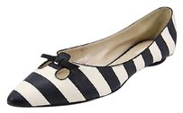 Marc Jacobs Good Eu Us Womens White Nbw black Flats