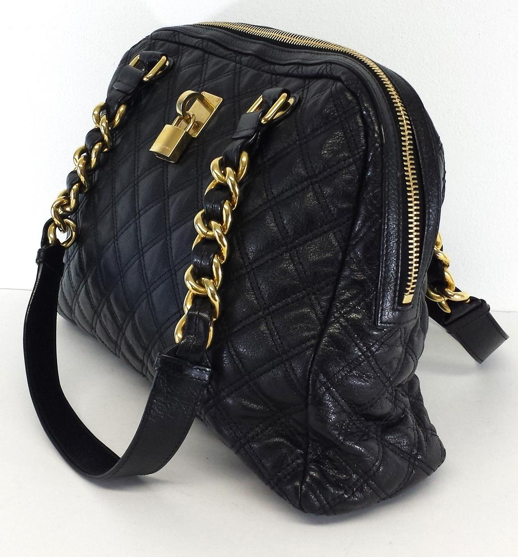 Marc jacobs large quilted black leather hobo bag tradesy jpg 893x960 Quilted  handbag marc jacobs lock cc4d9dfc75641
