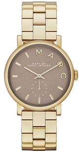 Marc Jacobs Marc by Marc Jacobs Women's MBM3242 Baker Gold-Tone Stainless Steel Watch with Link Bracelet