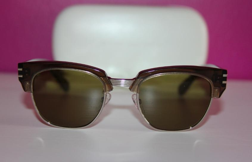 brown wayfarer sunglasses jb93  Marc Jacobs Marc Jacobs MJ 590/S Brown Wayfarer Sunglasses