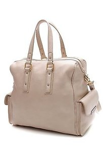 Marc Jacobs Marc By Stone Leather Bianca Satchel in Stone (beige)
