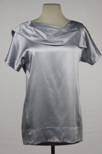Marc Jacobs Womens Top Pale Blue