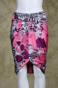 Marciano Womens Floral Skirt Pink