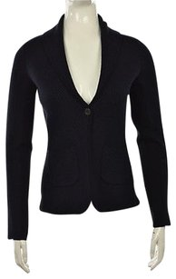 Margaret O'Leary Margaret O Leary Womens Cardigan Long Sleeve Wool Shirt Sweater