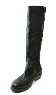 Mariano Renzi Fashion-knee-high Leather New With Defects 3416-0332 Boots