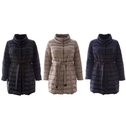 0a3193dcd1a Marina Rinaldi Voyage Womens Losanna Funnel Neck Quilted Jacket 1300  low-cost