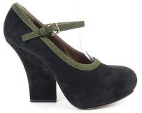 Marni Black / Olive Green Platforms