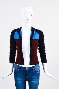 Marni Two Tone Blue And Sweater