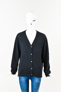 Marni Dark Cashmere Knit Sweater
