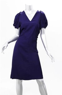 Marni short dress Indigo Womens Viscose on Tradesy