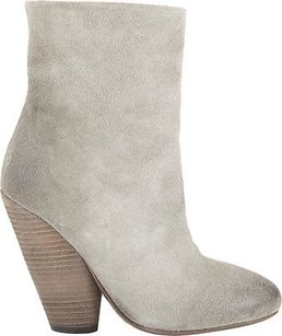 Marsll Marsell Suede Round Toe Grey Boots