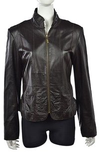 Marvin Richards Leather Brown Jacket