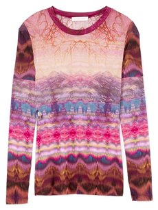 Matthew Williamson Plum Fuschia Purple Sweater