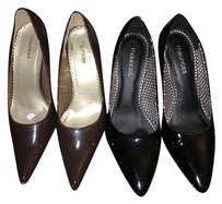 Maurices Black, and brown set Pumps