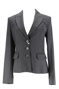 Max and Cleo Maxco. Womens Blazer Blue Virgin Wool