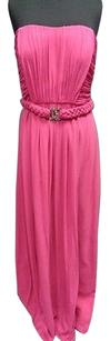 Max and Cleo Bright Full Length Pleated Strapless Sm11460 Dress