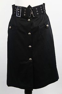 Max & Co. 61040411 Womens Skirt Black