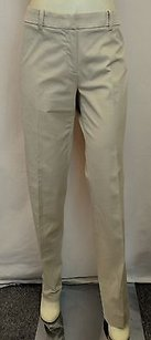 Max Mara Weekend Dolce Khaki Cigarette Fitw13 Slim Stretch 100578 Pants
