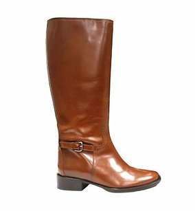 Max Mara Pull On Leather Padre Flat Equestrian 80628 Browns Boots