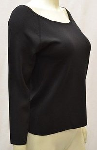 Max Mara Tobia Black Key Hole Sweater