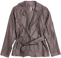 Max Mara Silk Wool Belted Jacket