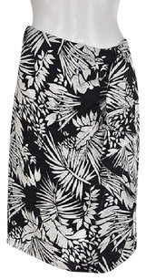 Max Mara Womens White Skirt Black