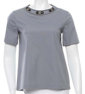 Max Mara Top Grey