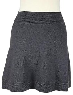Max Studio Womens Skirt Gray