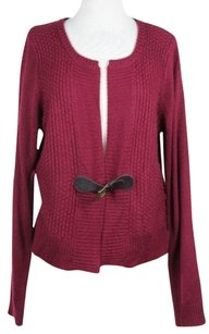 Max Studio Womens Solid Cardigan Acrylic Blend Long Sleeve Sweater