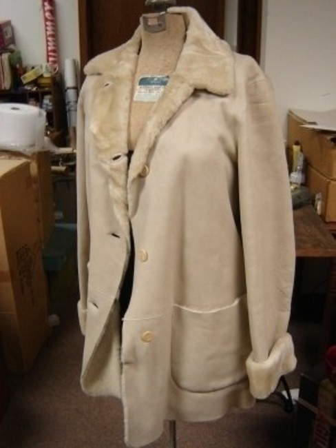 MAXFIELD PARRISH LONDON SINGLE BREASTED SHEARLING New With Tags Fur Coat