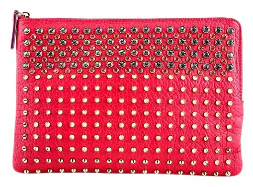 Stark Pre-owned - LEATHER CLUTCH PURSE Vc5CRw