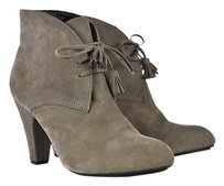 Me Too Taupe Ankle Gray Boots