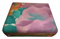 Ingwa Melero Vintage Travel MELE floral Jewelry Box 4 inch by 3.5 inch