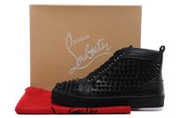 Men's Christian Louboutin black Athletic