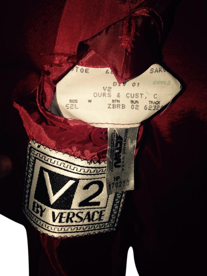 MENS V2 VERSACE Fancy Red Jacket