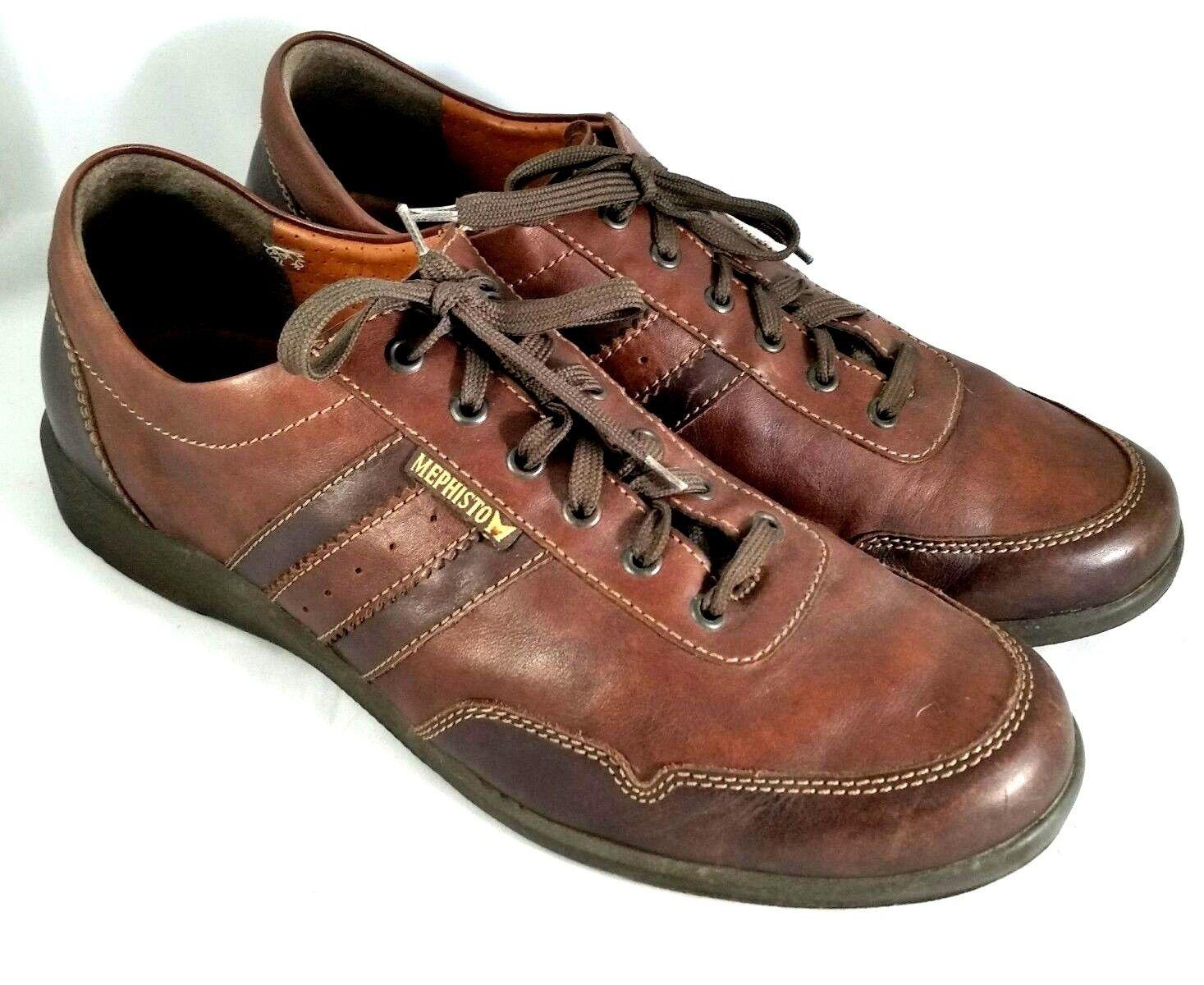 Mephisto Brown Bonito Air-jet Leather Sneakers Comfort Walking Sport Flats  Size US 12 Regular (M, B) - Tradesy
