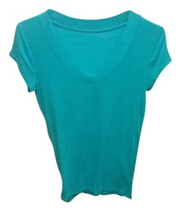 Merona Top Teal Green