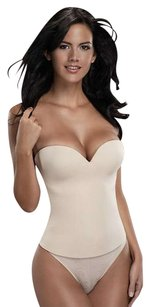 Merry Modes Merry Modes Seamless Bustier Bra Corset 9500 Size 42C