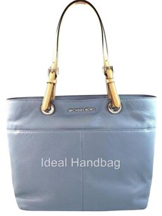 Michael Kors Leather Bedford Tote in Blue