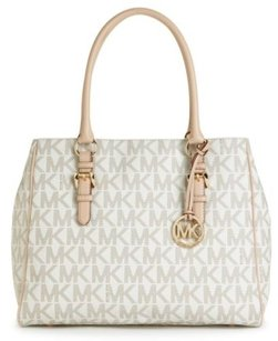 Michael Kors Jet Set Work Tote in White