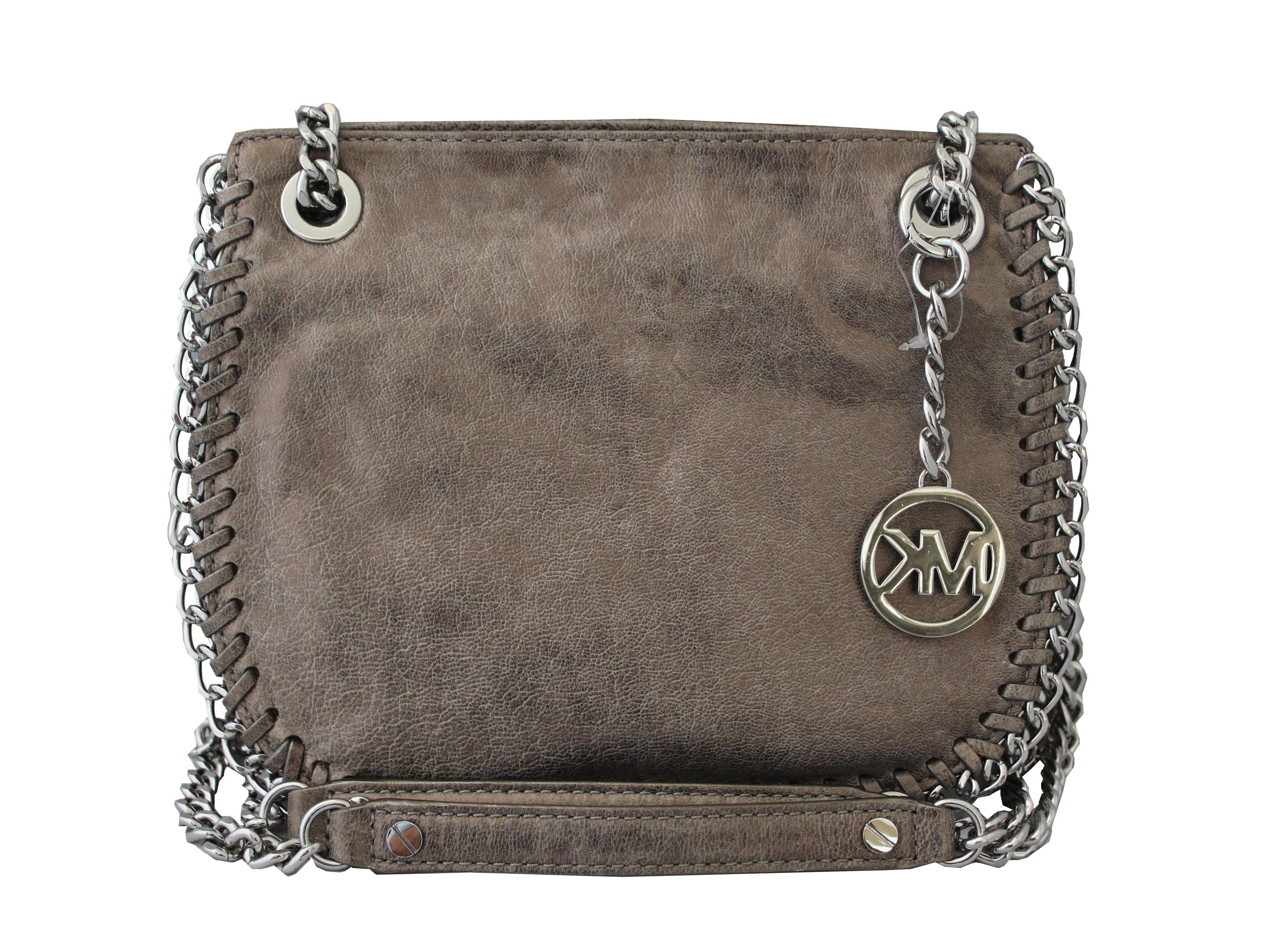 c8a1bce84c853c germany michael kors leather crossbody nickel messenger bag 0eeef 1efc0