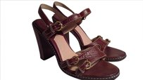 Michael Kors chestnut brown Sandals