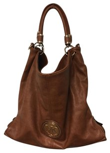 Michael Kors Designer Leather Tote in Camel