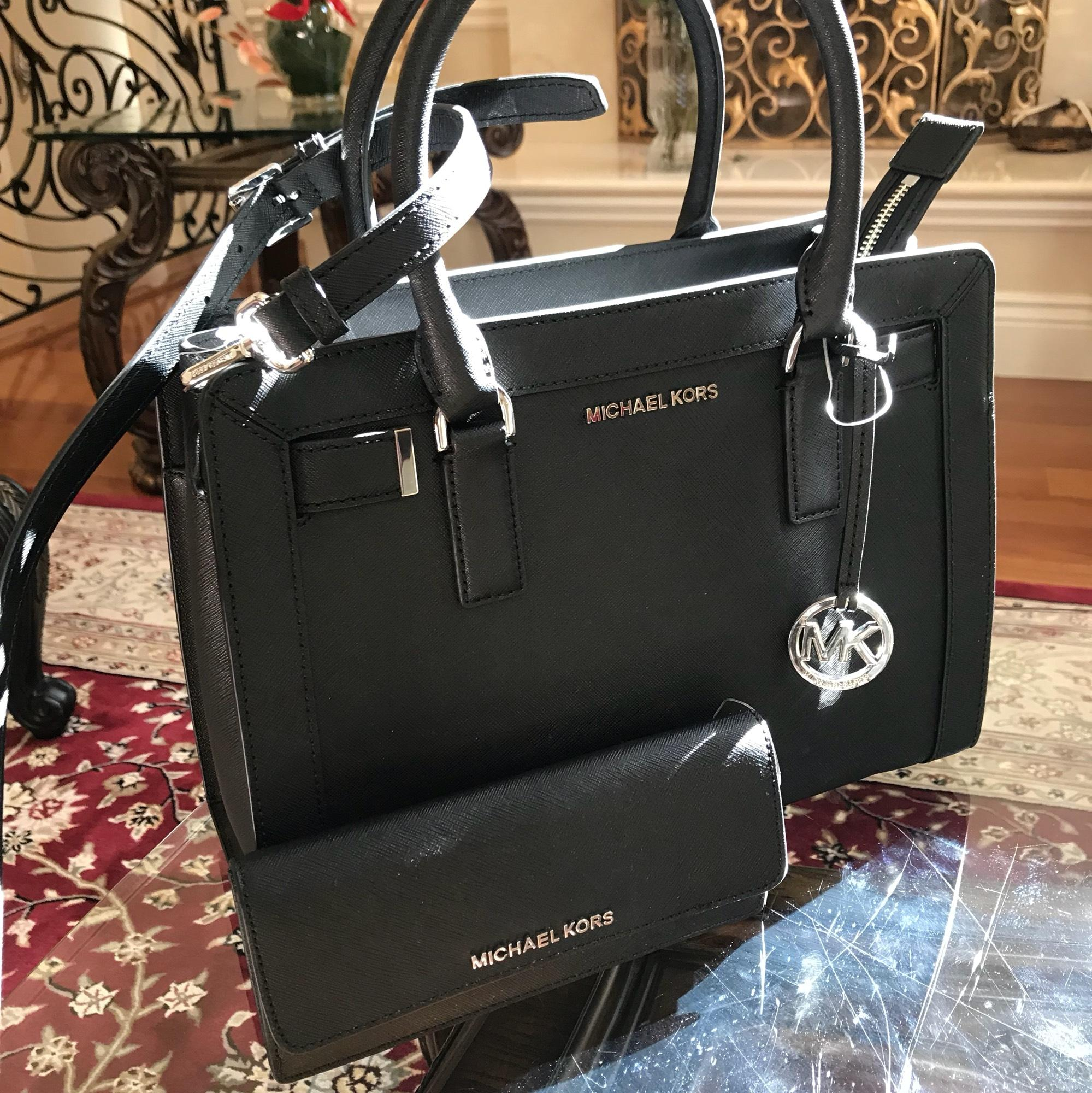 ddeab5b1a023 ... sale michael kors dillon crossbody strap electric blue medium leather  satchel in black. 12345678910 030de