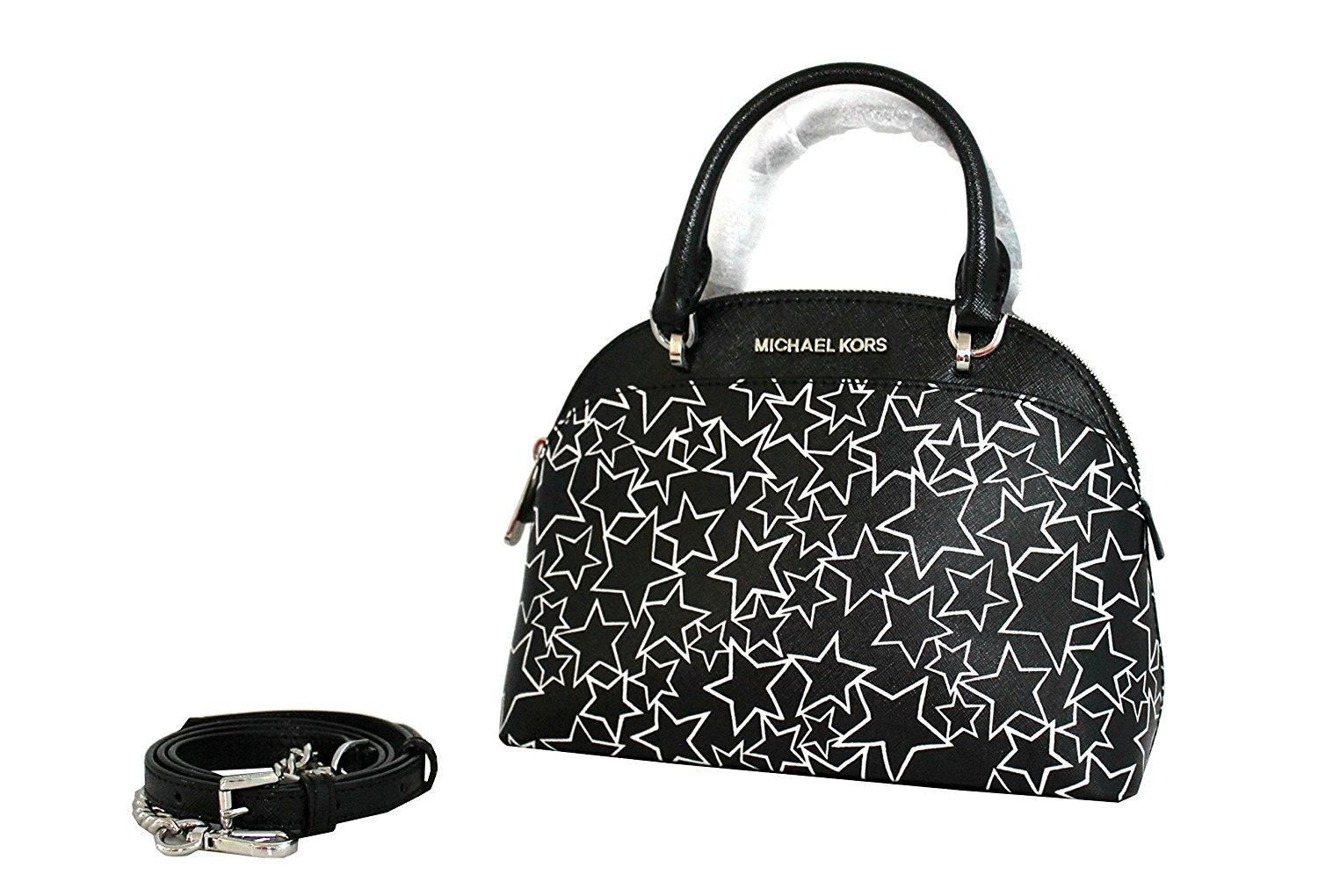dc0e0ede46 ... authentic michael kors emmy crossbody leather shoulder bag dded9 688aa