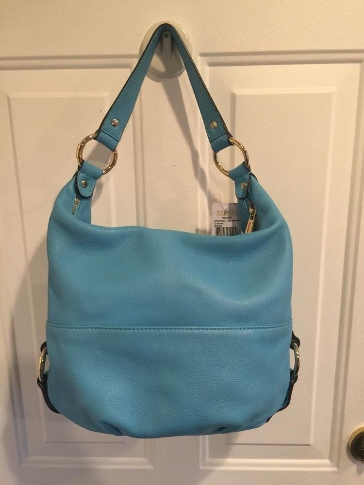 cheap michael kors fulton bag blue dot c5d30 282f1 8bad148d4dc6f