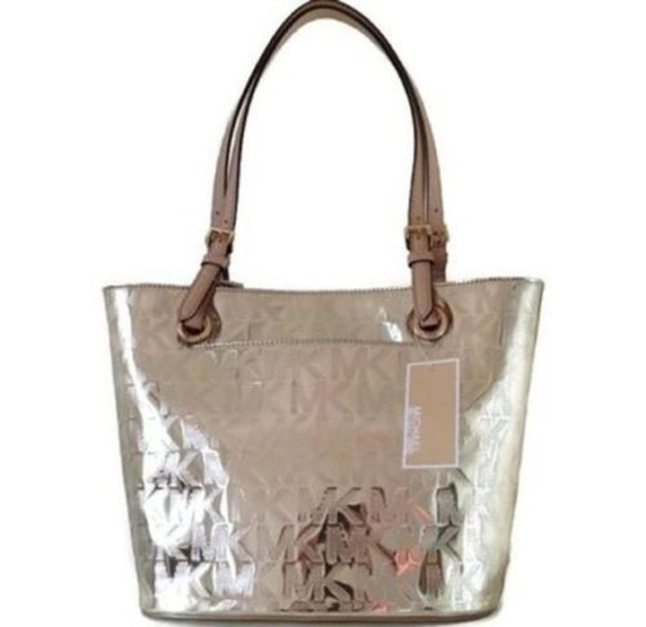 85f0e2532b281 sweden michael kors tote in pale gold 51576 7ad27
