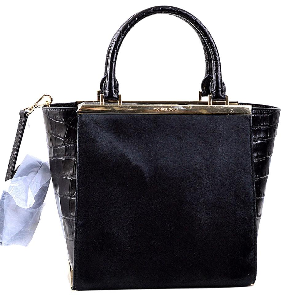 cff1576065a9e5 ... where to buy michael kors 30h4gkyt6h fur satchel in black 72dfe 7cffd