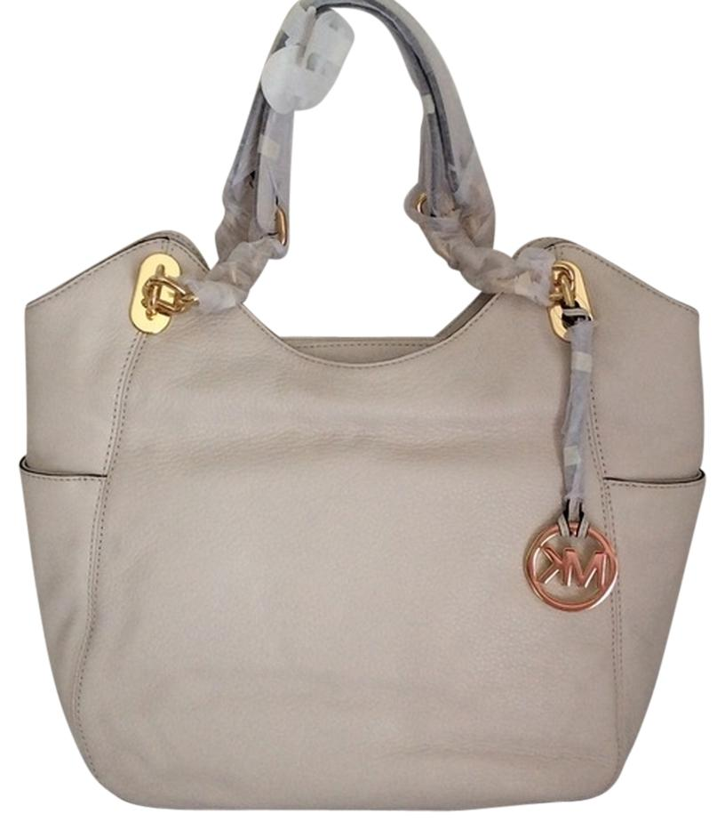 Michael Kors Lilly Large Vanilla Tote Bag on Sale, 34% Off ...
